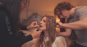 Rebecca Green Bridal Makeup Bath