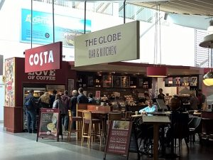 The Globe & Costa Southampton Airport
