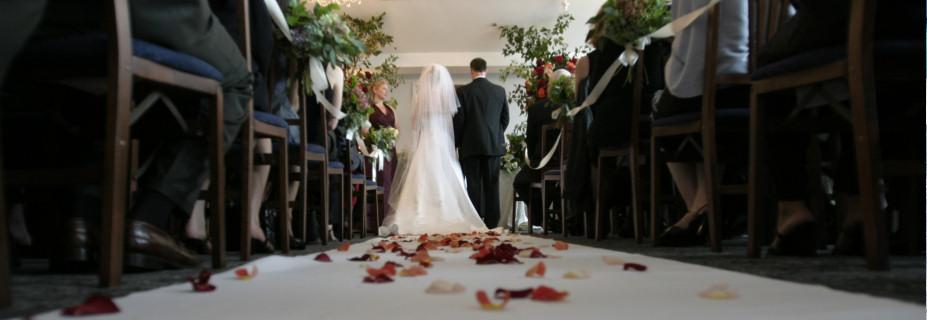 Wedding Couple Getting Married