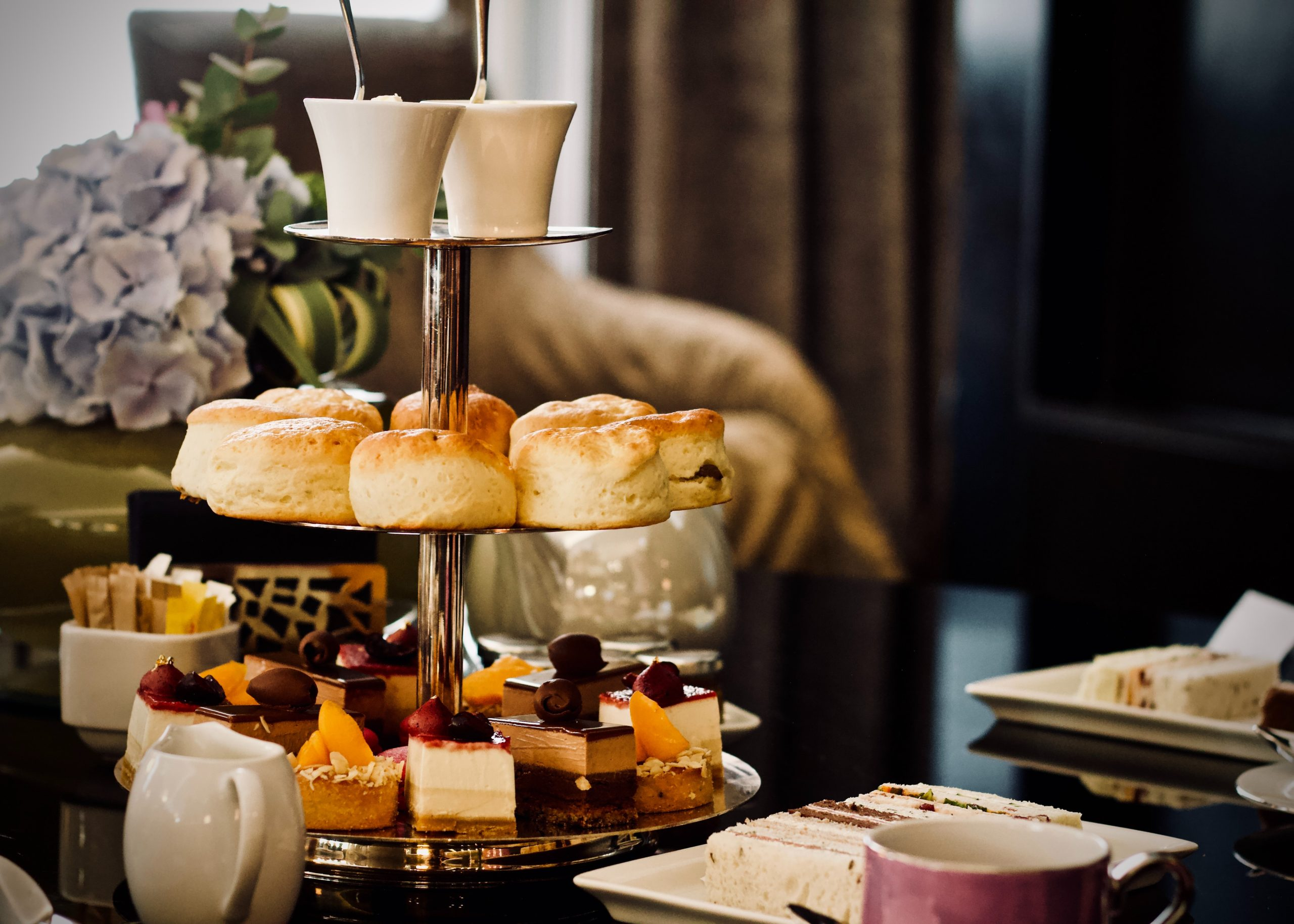 Afternoon Tea Stand With Cakes